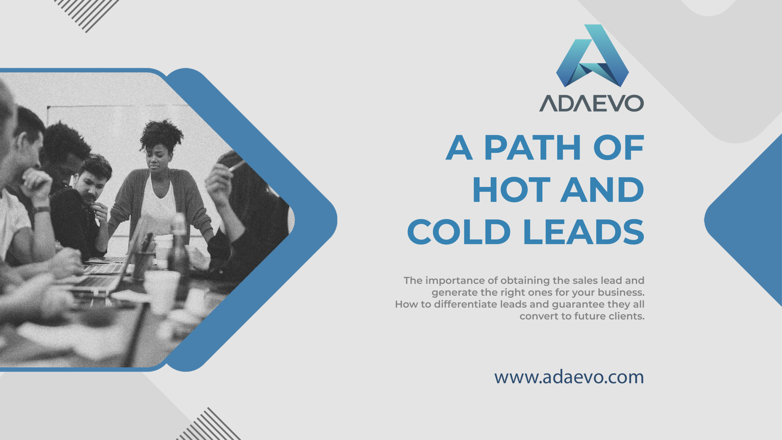 a path of hot and cold leads